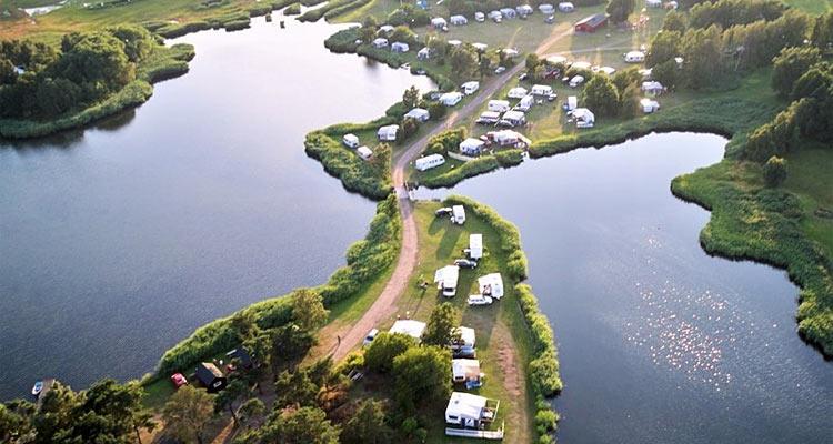 Dalskärs Camping ligger smukt ved Østersøen