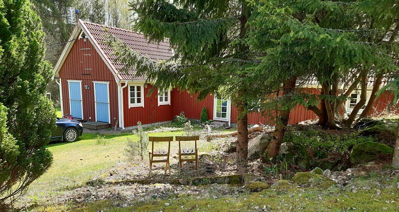 Fritidshus med naturskøn beliggenhed i Skåne
