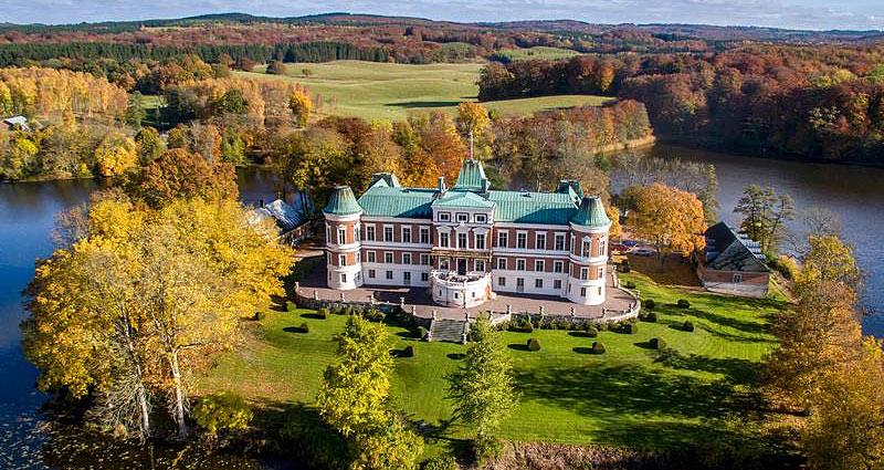 Slotsophold på Häckeberga Slott