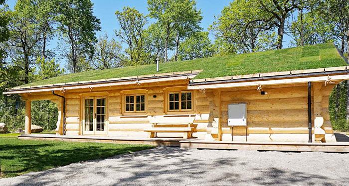 Luxury Wood Cabin - fuldtømmerhus i moderne nordisk stil