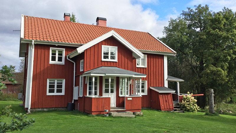 Nyrenoveret, rummelig ødegård i det sydvestlige Småland