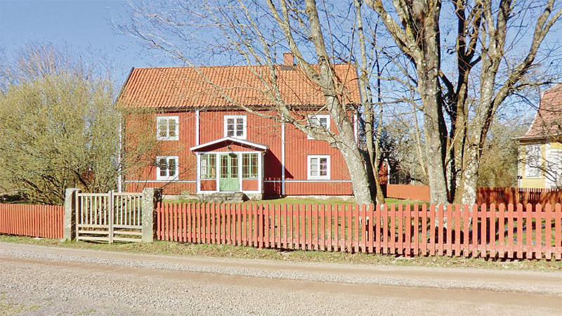 Smagfuld indrettet ødegård i Småland