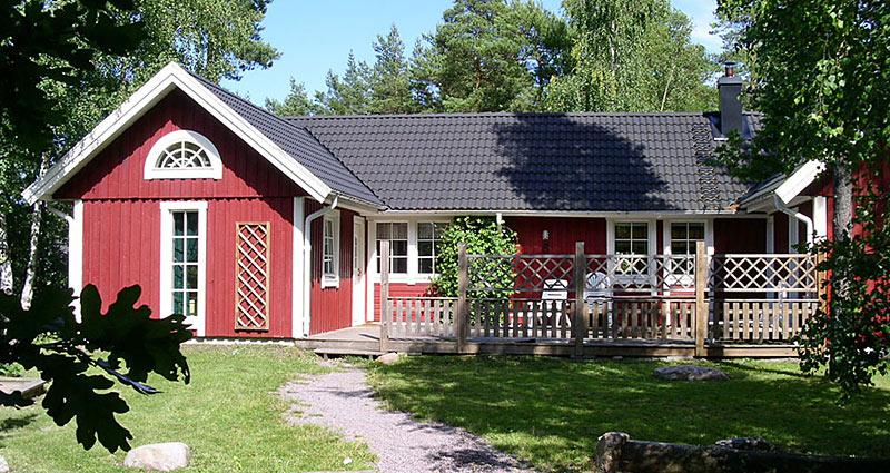 Hyggeligt poolhus til 18 personer på Øland