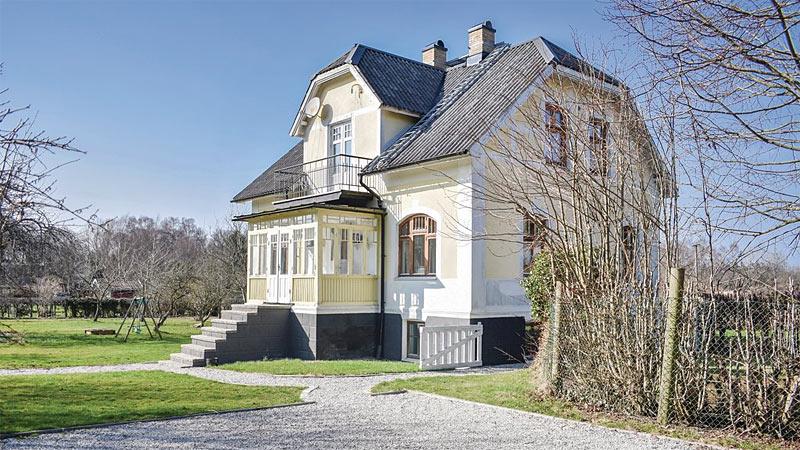 Sommerhus ved Arild på Kullen til 10 personer