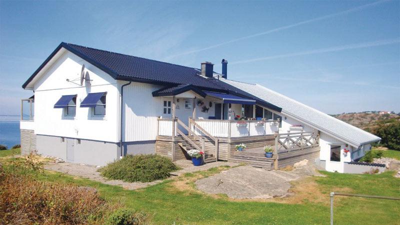 Sommerhus med havudsigt på Sveriges vestkyst