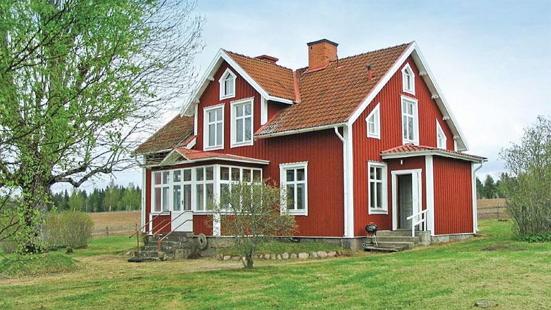 Sommerhus ved Mariannelund til 11 personer