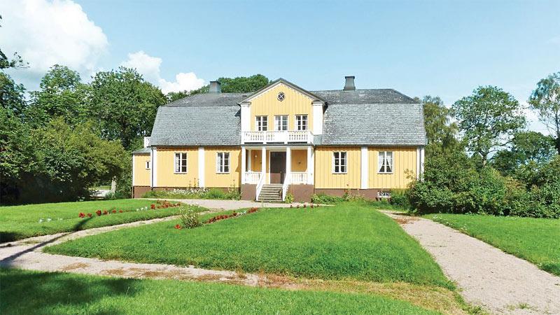 Sommerhus ved Älmhult i Småland til 16 personer