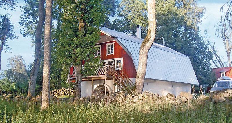 Sommerhus til 12 personer ved søen Bolmen