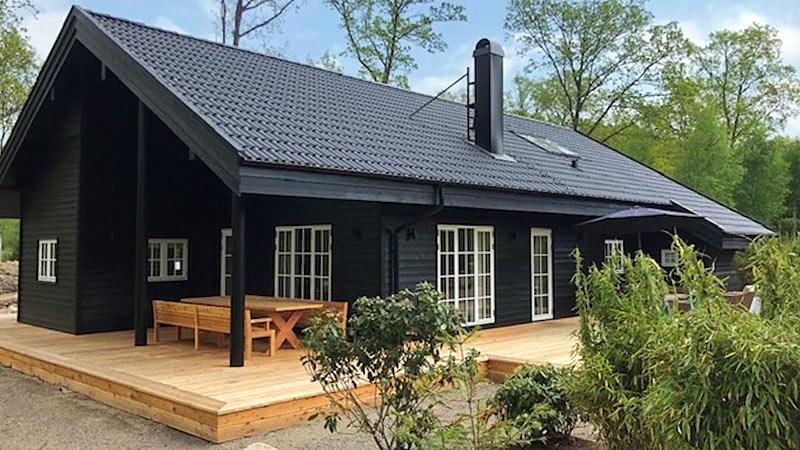 Swedish House - dejligt svensk træhus ved Hallandsåsen