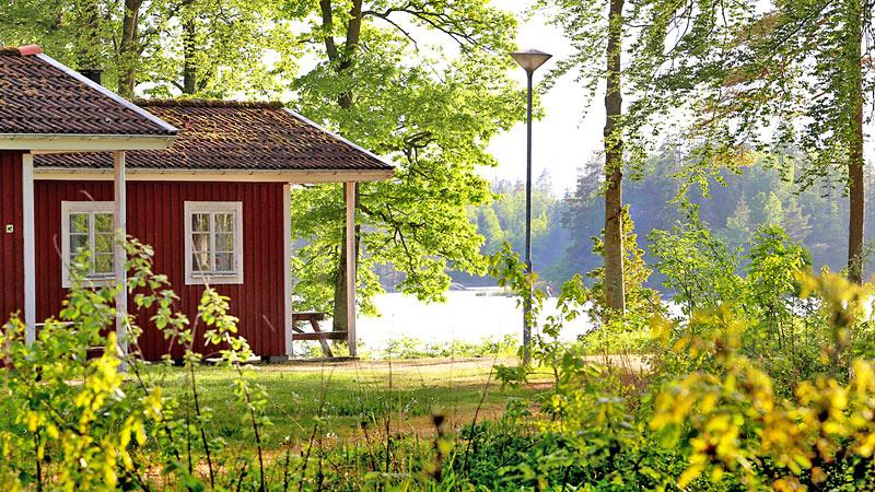 Urshult Camping ved Åsnen