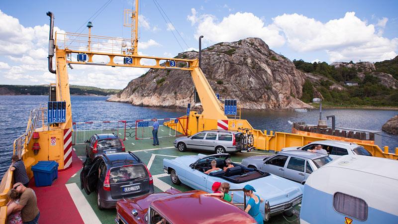 Bilferie i Sverige