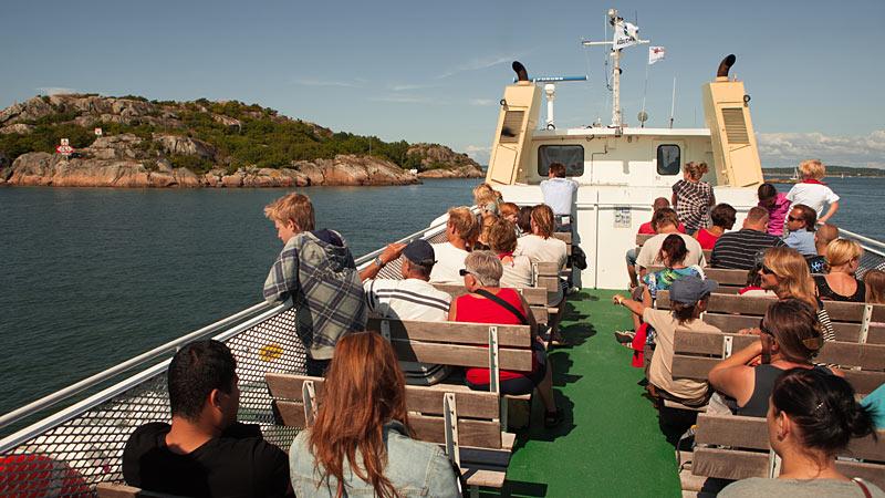 Skærgårdsbådene sejler fra Saltholmen