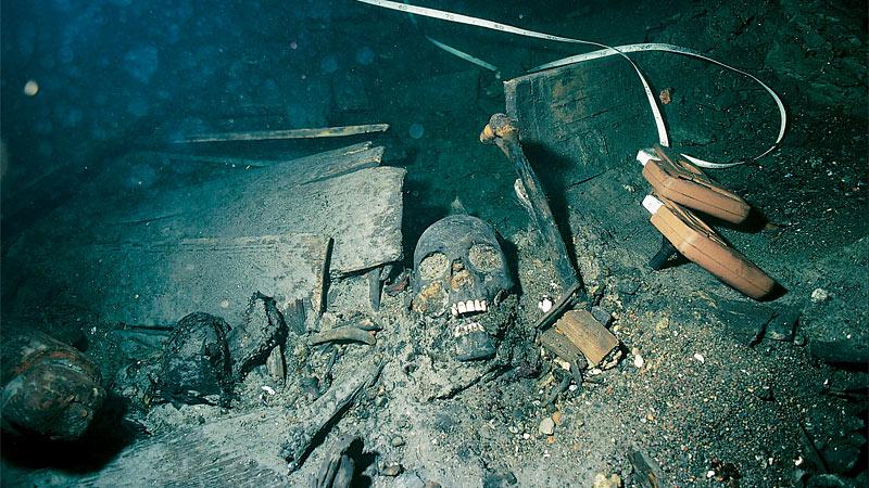 Orlogsskibet Kronan gik ned med 800 mand