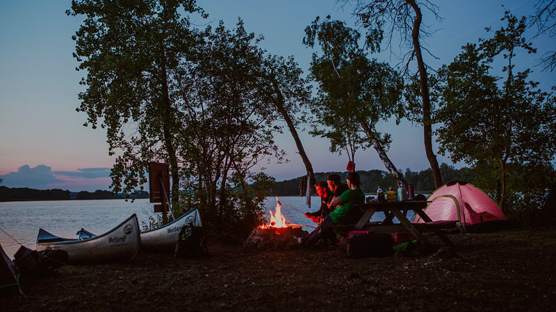 Lejrplads ved Ivösjön