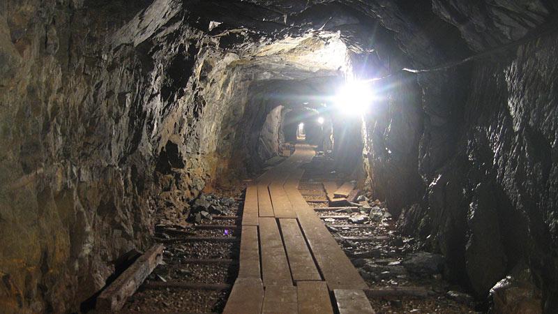 Kleva Gruva er en gammel kobber- og nikkelmine