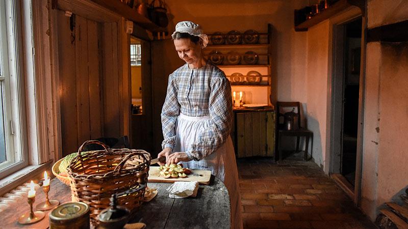 Midsommer med picnic på Kulturen