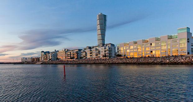 Turning Torso i Malmø