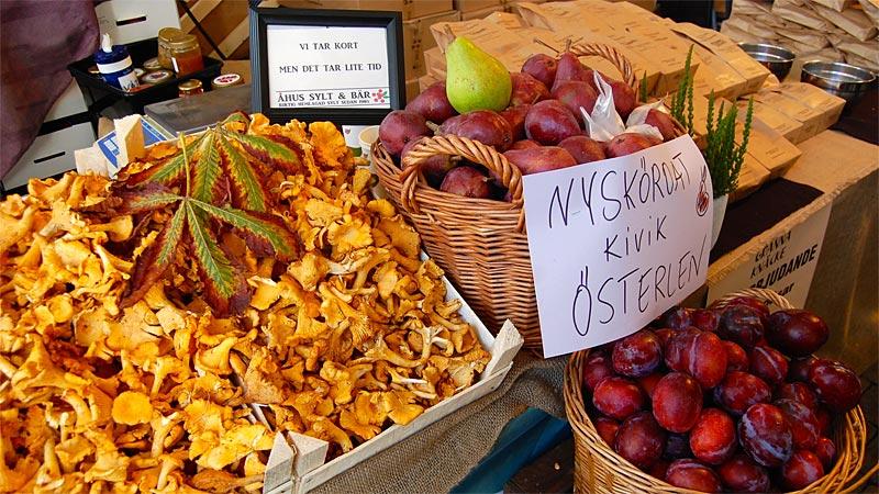 Høstmarkeder i Sydsverige