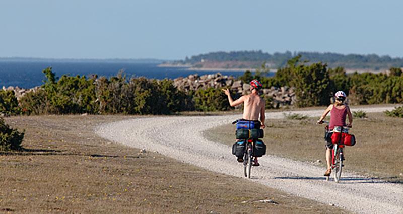 Ölandsleden er en 375 km cykelrute gennem Øland