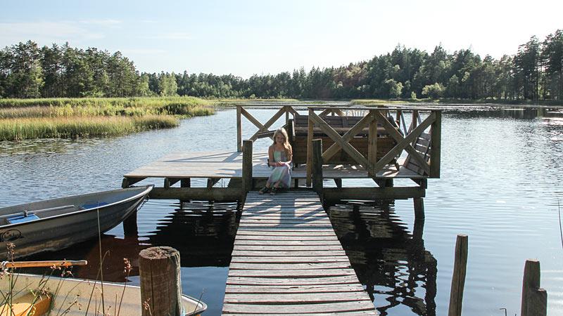 Bådebro ved Örsjön