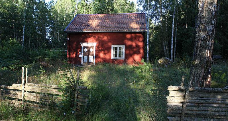 Hytten Krokstorp på 3. etape af Ostkustleden