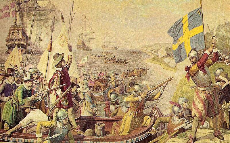 Danske tropper landsættes på Øland