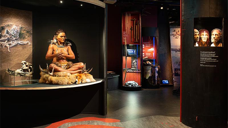 Fra udstillingen Stadslifv på Trelleborgs Museum
