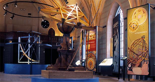 Tycho Brahe Museum i Allhelgonakyrkan på Hven