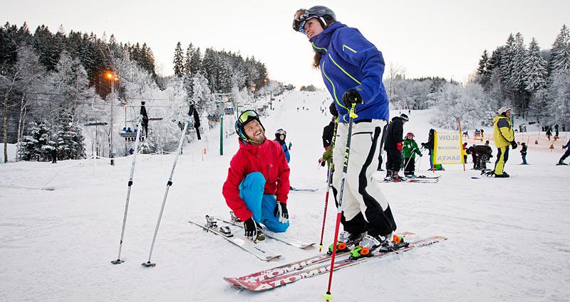 Skitur til Vallåsen
