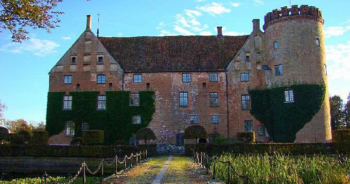 Vittskövle Slot er et af de bedst bevarede renæssanceslotte i Skandinavien