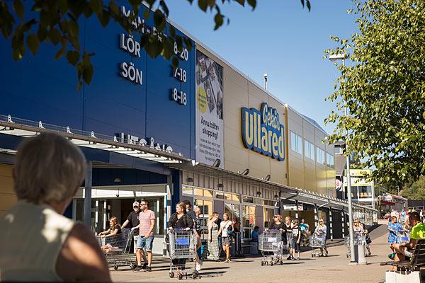 stort indkøbscenter i sverige
