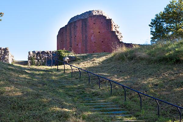 Solvesborgs Slotsruin En Kongelig Borg Med Stor Strategisk Betydning