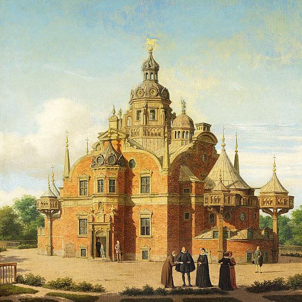 Tycho Brahes Uraniborg på Hven
