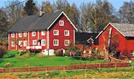 Bondegårdsferie ved Älmhult i Småland, Sverige