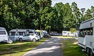 Bromölla Campingplads ved Kristianstad i Sverige