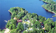 Sjöstugans Camping ved Älmhult i Småland, Sverige