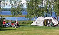 Mjölknabbens Camping ved søen Åsnen