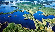 Norraryds Camping lige ved Åsnens Nationalpark
