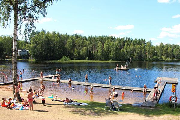 Camping i sverige ved sø