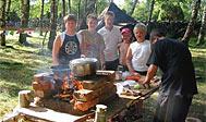 Stenbräckagårdens Camping på Tjurkö