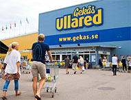 Shopping i Gekås Ullared