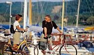 Havnen i Båstad. Foto: skane.com © sydpol.com