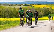 """""""Bjergkørsel"""" på cykel i Halland"""