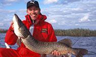 Geddefiskeri i Ivösjön. Foto: skane.com © Kristian Nilsson