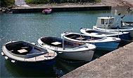 Lej en lille fiskerbåd i Kattvik havn