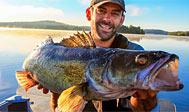 Fiskeri i Bolmen. Foto: Fishing in Sweden