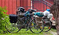 Cykeltur i Hallands indland. Foto: Region Halland/halland.se.