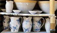 Keramik fra Höganäs. Foto: skane.com © Bernard Grilly