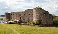 Kronobergs Slotsruin. Foto: L O Hallberg
