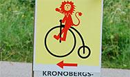 Cykelruten Kronobergstrampen i Småland